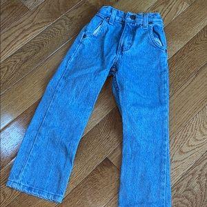 Vintage Wrangler Kids Jeans Logo Patch Pocket